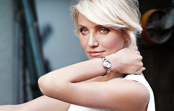 Cameron diaz for tag heuer 7 female watch brand ambassadors for Woman celebrity watches
