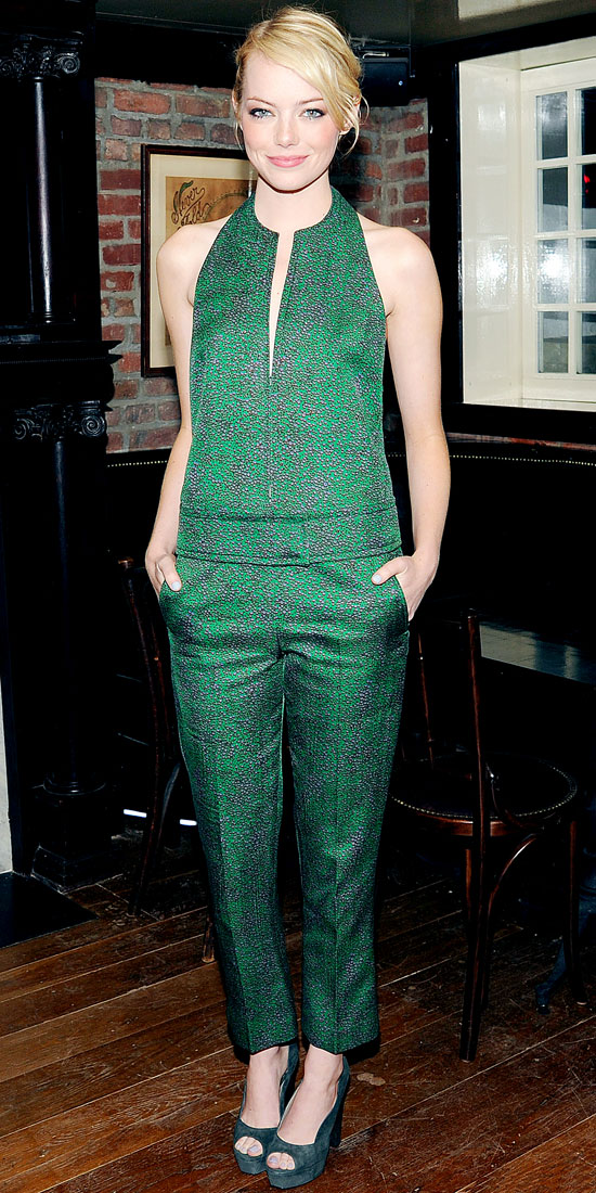 Emma Stone - 9 Celebrities Wearing Jumpsuits U2013 Who Wore It Best?u2026