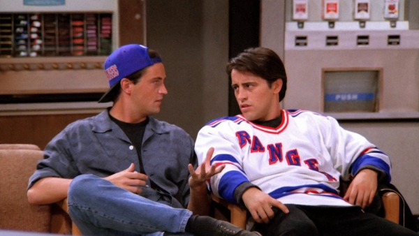 Joey and Chandler from Friends