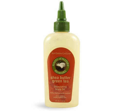 Roots of Nature Stimulating Scalp Oil with Green Tea and Shea Butter