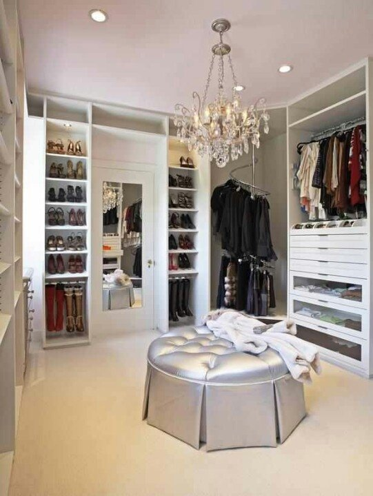 Metallics 10 Of The Most Beautiful Walk In Closets Found On