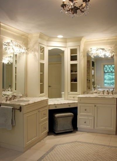 5 his and hers bath with vanity area find your fantasy for His and hers bathroom