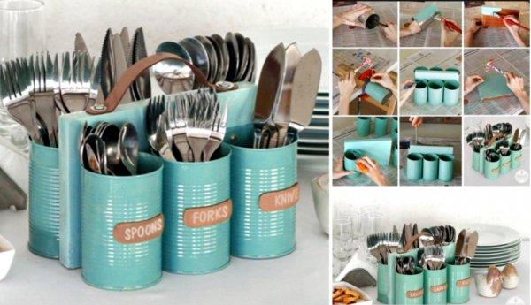 DIY Cutlery Stand