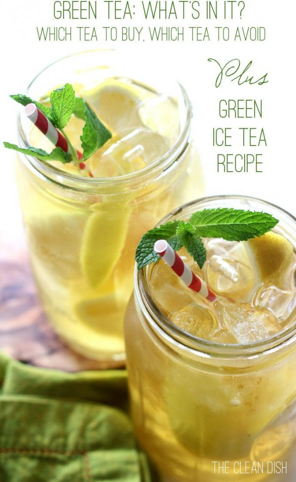 Green Iced Tea