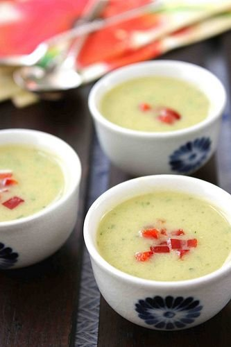 Creamy Zucchini and Coconut Milk Soup - 25 Refreshing Cold Soup…