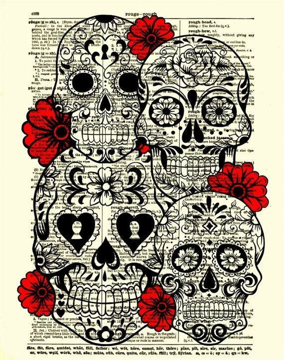 Rumble,Boca Loca,skull,bone,cartoon,