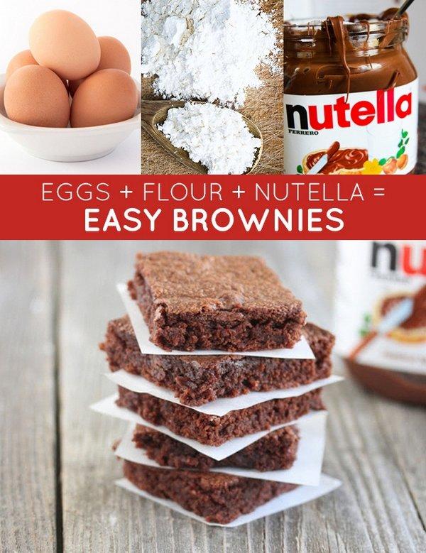 Nutella,food,dessert,chocolate brownie,baking,