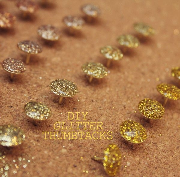 Turn All Your Thumbtacks into Sparkly Ones