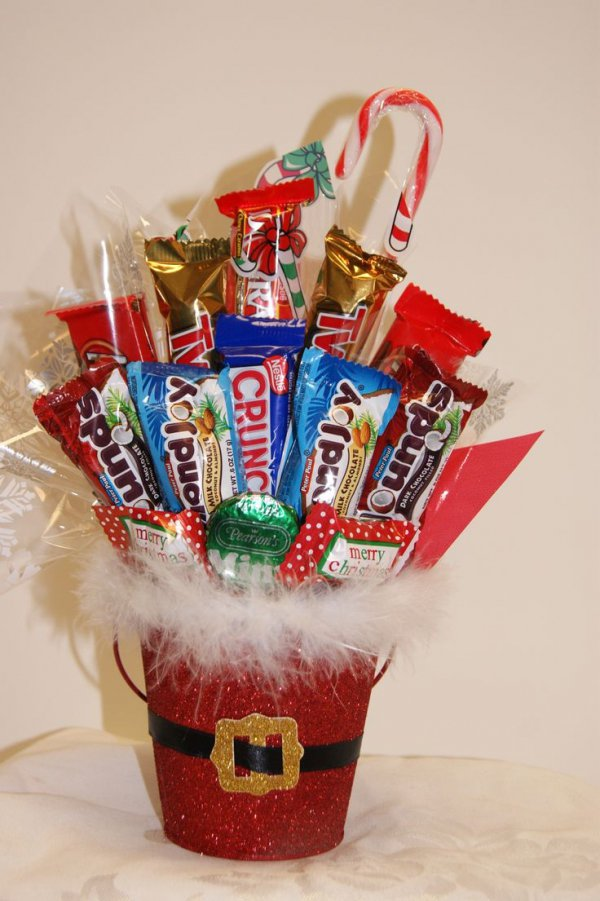 Sweet Baskets For Kids 20 100 10 Christmas Gift