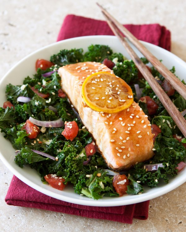 Make a Healthy Dinner – Focus on Something You Want to Increase or Improve Such as a Food Rich in Omega-3 or Vitamin D