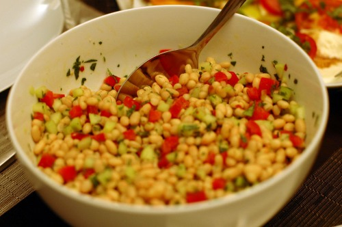 Tomato, Cucumber and Corn Salad