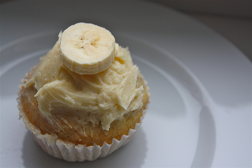 Banana Cupcakes with Honey-Cinnamon Frosting - 7 Best Cupcake…