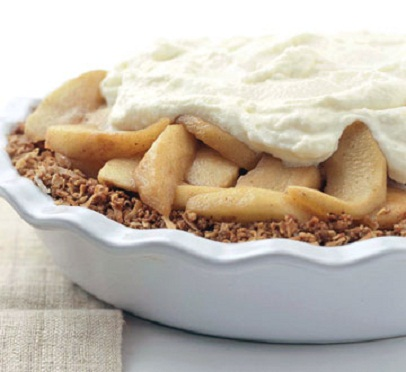 Creamy Apple Pie...