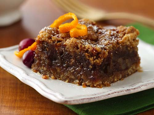 Diabetic Orange Date Bars