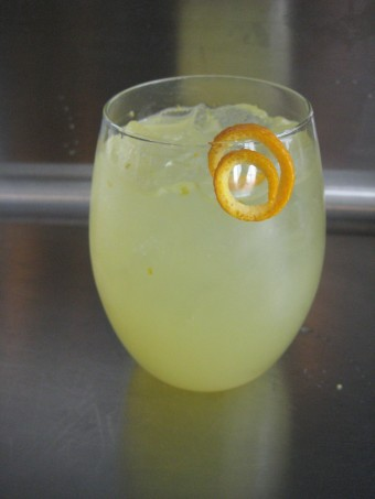 {{Citrus White Wine Spritzer http://www.foodnetwork.com/recipes/rachael-ray/citrus-white-wine-spritzer-recipe/index.html}}