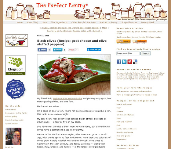 Goat Cheese and Olive Stuffed Peppers