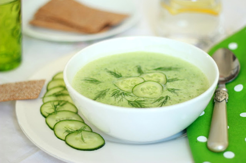 chilled cucumber soup with cucumber soup 1 cucumber soup this cold ...