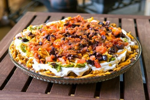 Vegan Seven Layer Dip...