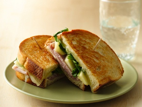 Ham, Apple and Grilled Cheese Recipe...