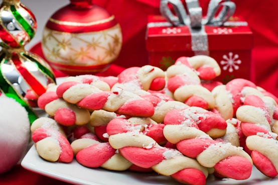 Candy Cane Cookies...