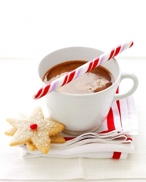 Peppermint Hot Chocolate...