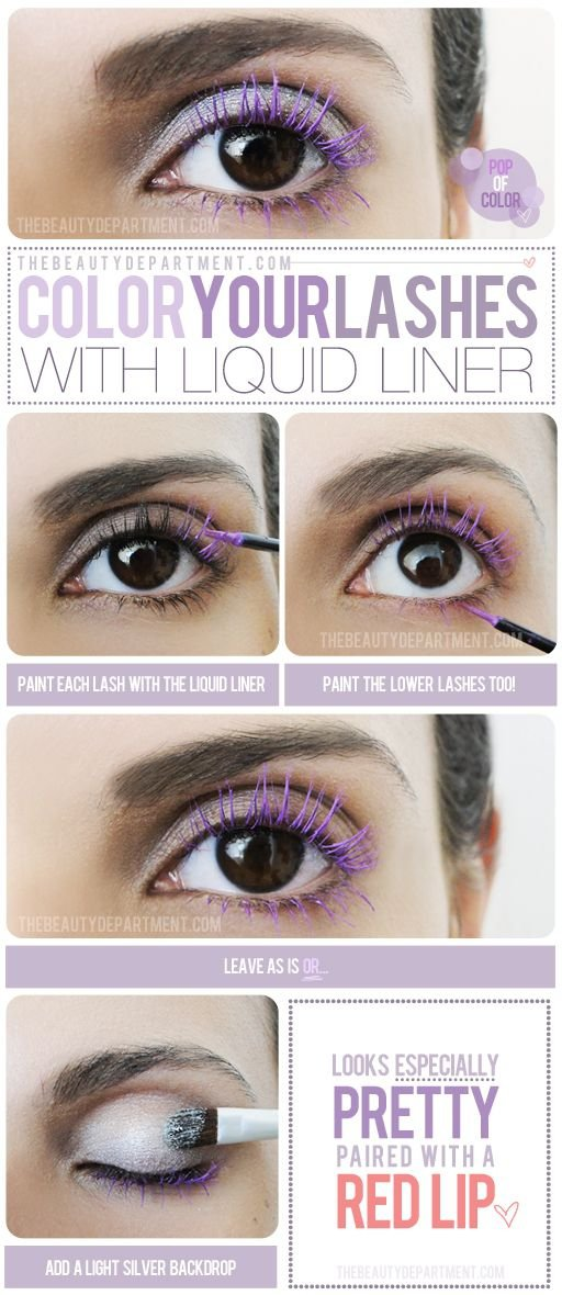 Color Your Lashes
