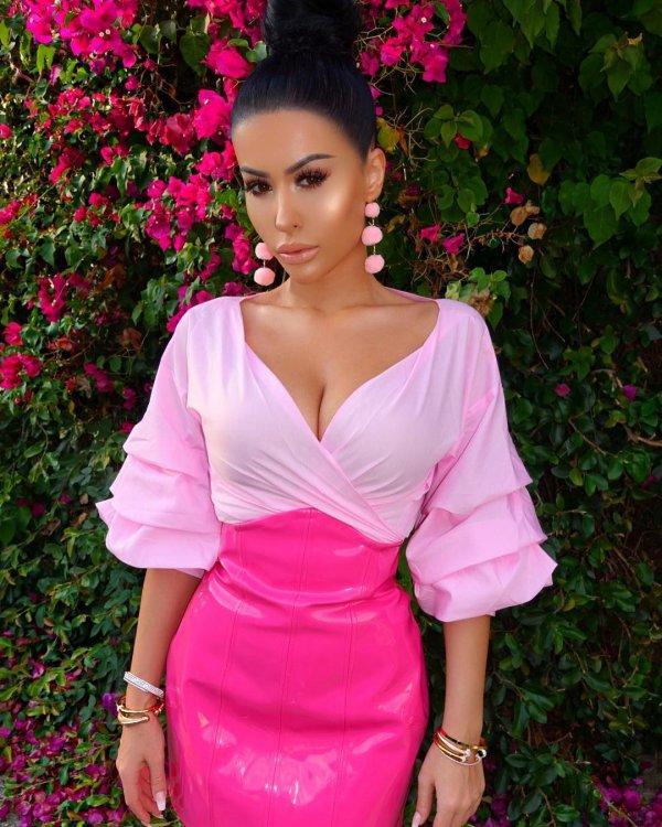 pink, beauty, fashion model, lady, shoulder,