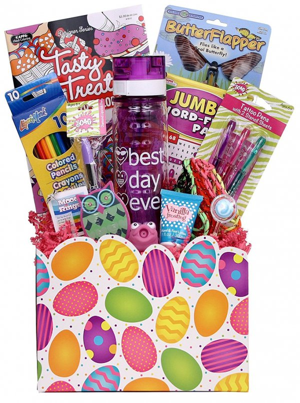 Tween girls basket 10 fun easter baskets for kids of all ages tween girls basket gift basket negle Image collections