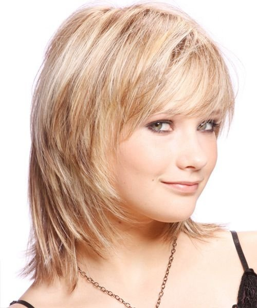 Casual Medium 27 Flattering Hairstyles for round Faces …