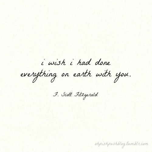 F Scott Fitzgerald Love Quote Entrancing Fscott Fitzgerald  21 Of The Most Wonderful Quotes About Love…