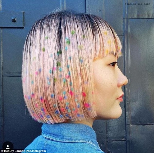3 Hair Stencils Hidden Rainbow Hair🌈 And Other Fabulously