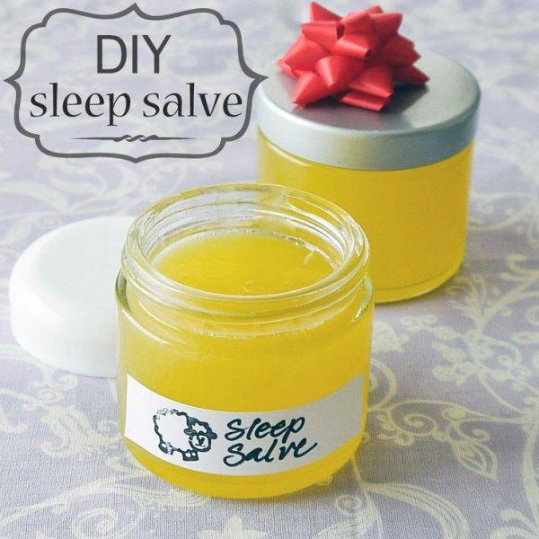 Homemade Sleep Salve