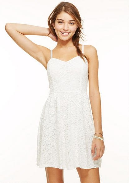 White Dress 7 Clothing Items Every Teen Should Have In Her