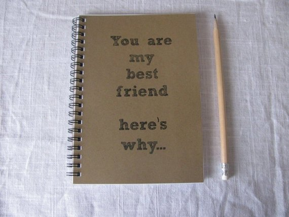 You Are My Best Friend Here's Why Journal - 29 Christmas Gifts for…