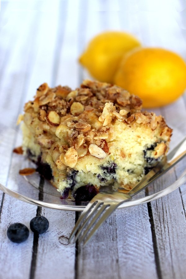 Bisquick Lemon Blueberry Coffee Cake