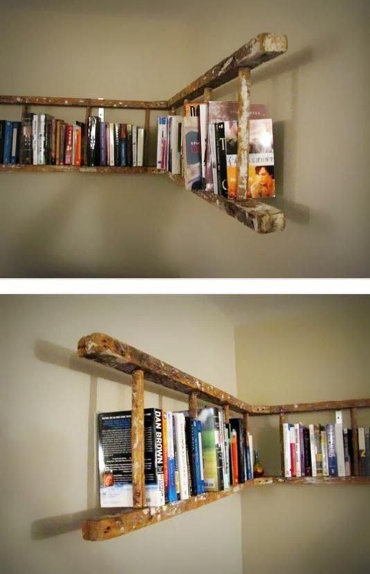 Repurpose an Old Wooden Ladder