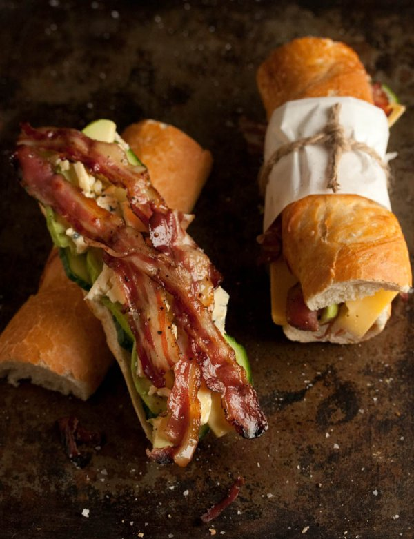 23. Bacon, Blue Cheese and Avocado Baguette - Here Are the 32 Best…