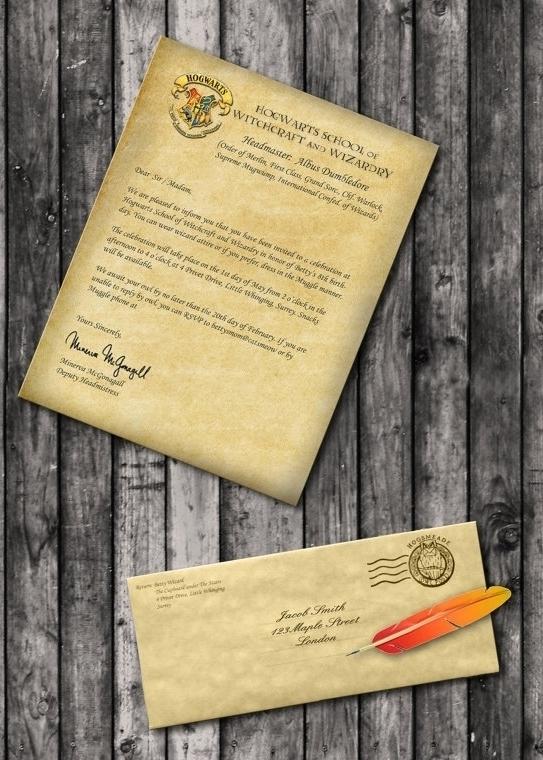 Harry Potter Invites for adorable invitation sample