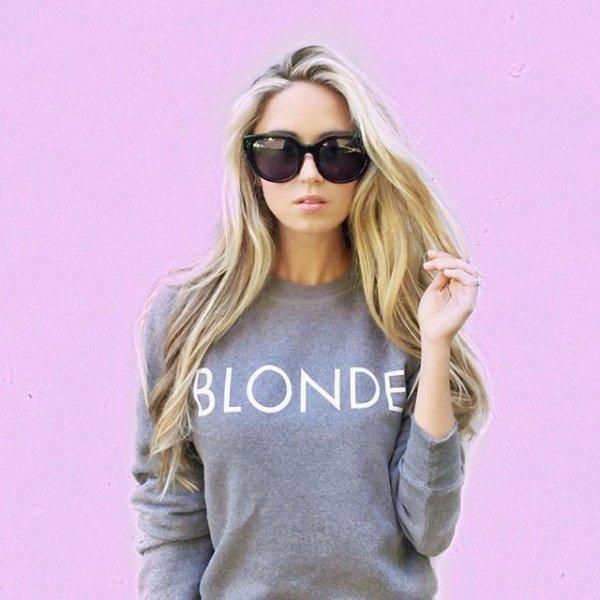 clothing, hair, blond, hairstyle, eyewear,