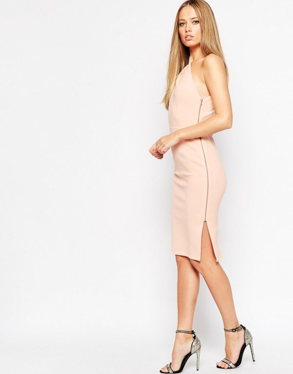 ASOS One Shoulder Midi Dress