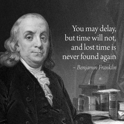 spend your time wisely 9 inspirational time management