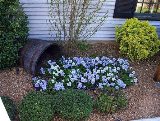 Small bushes 46 fun ideas for your little flower garden for Simple garden designs for small gardens