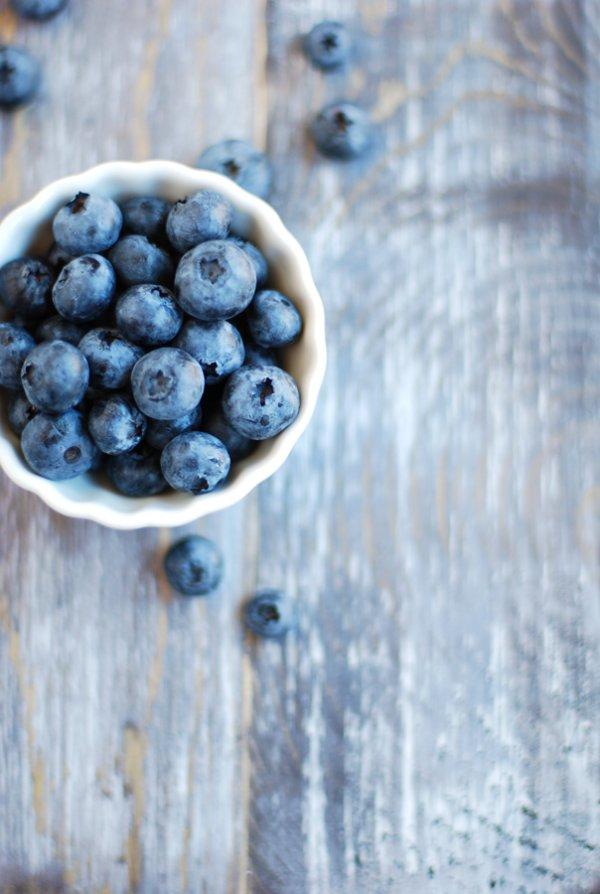 Round, Juicy Blueberries