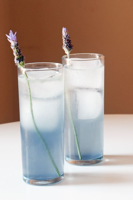 24. Lavender Tom Collins - Celebrate Spring by Sipping on These 26…