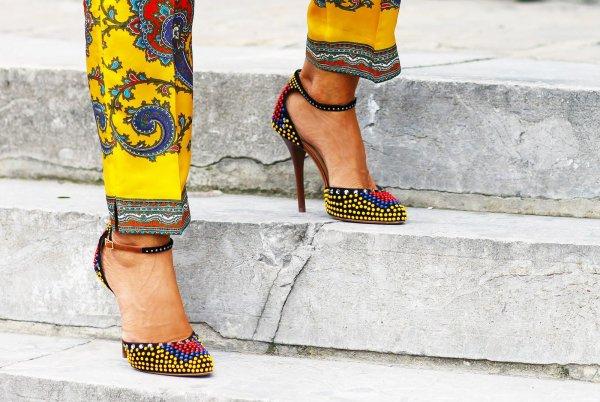 color,footwear,yellow,clothing,season,