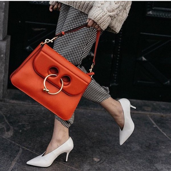 handbag, orange, fashion accessory, fashion, bag,