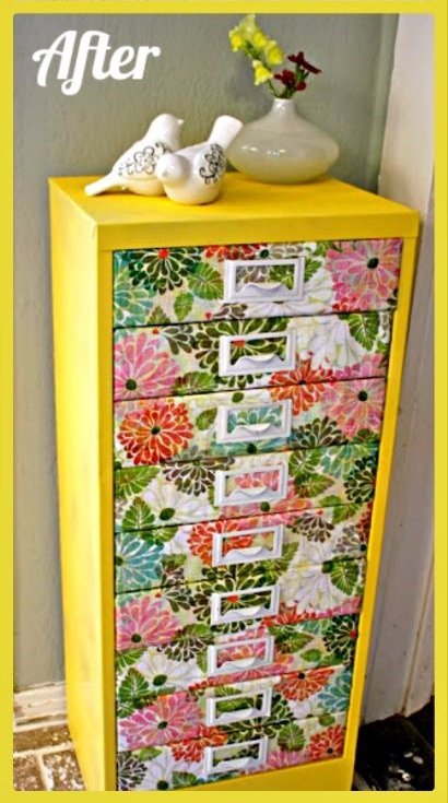 Upcycle a Filing Cabinet