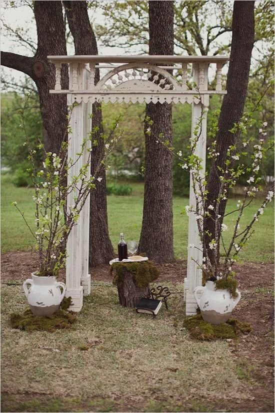 Vintage Wedding Arch - 53 Wedding Arches, Arbors and Backdrops ...…