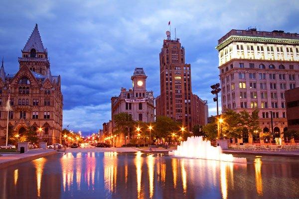 Syracuse, NY - 100.57%