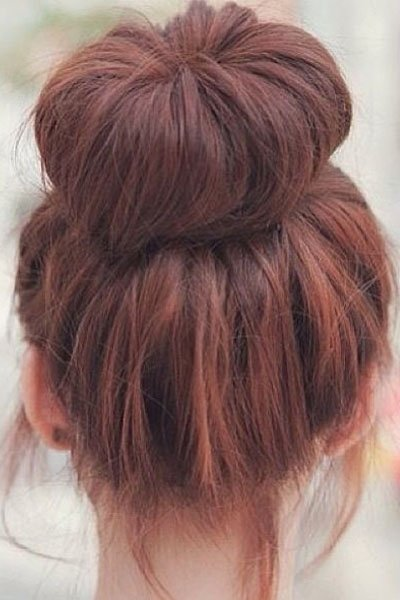 Neat High Bun